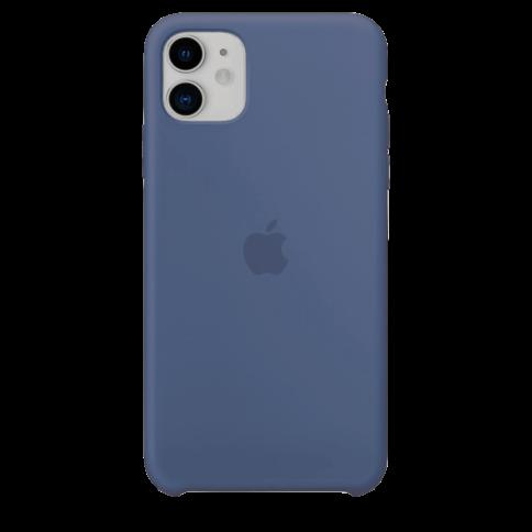 Чехол на iPhone 11 темно синий