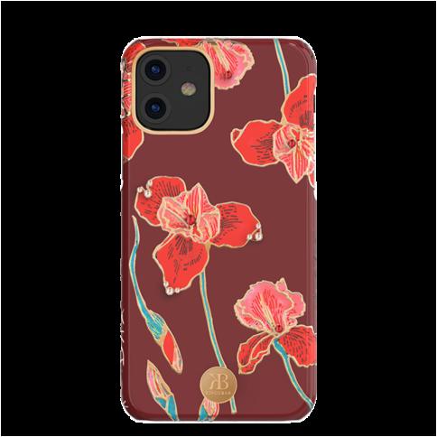 Чехол на IPhone 11 цветочный принт