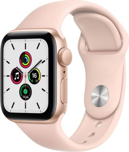 Apple Watch SE 40mm Gold Pink Sand Band