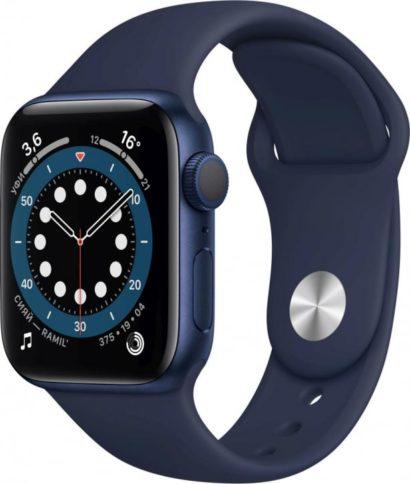 Apple Watch Series 6 40mm Blue Deep Navy Band