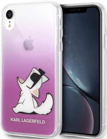 Lagerfeld iPhone Xr Choupette Sunglasses Pink