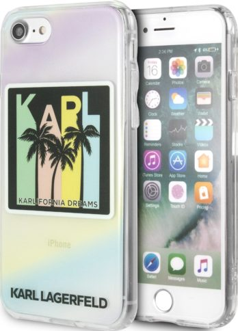 Lagerfeld iPhone 8/SE TPU Kalifornia Dreams Hard