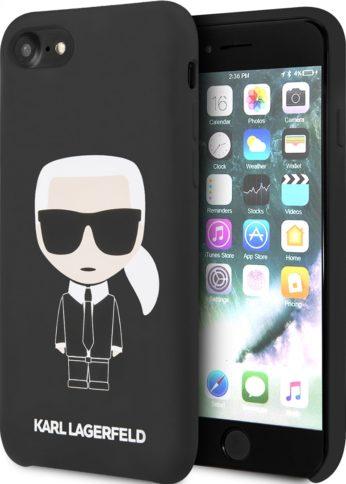 Lagerfeld iPhone 7/8 Liquid Iconic Karl Hard Black