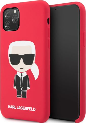 Lagerfeld iPhone 11 Pro Iconic Hard Red
