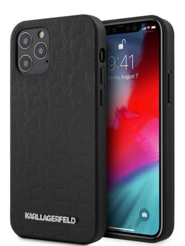 Lagerfeld iPhone 12 Pro Max PU Kameo Embossed Hard