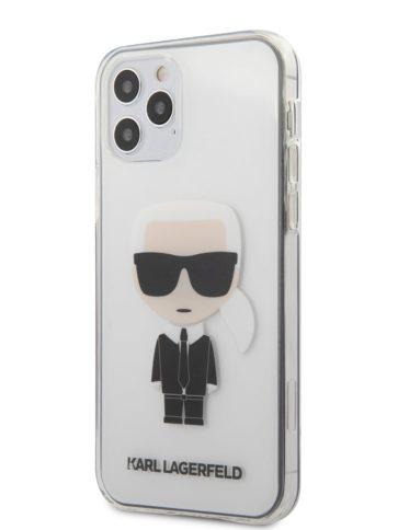 Lagerfeld iPhone 12/12 Pro Ikonik Karl Transparent