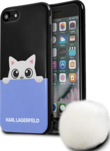 Lagerfeld iPhone 7 K-Peek A Boo Hard TPU Black