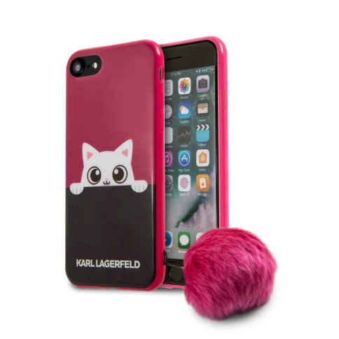 Lagerfeld iPhone 7 K-Peek A Boo Hard TPU Pink